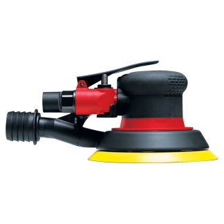 """CP3514 Chicago Pneumatic 5"""" Air Sander With Central Vacuum & Velcro Pad"""