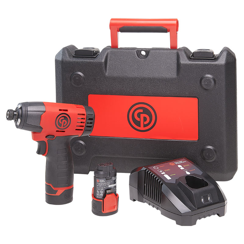 Chicago Pneumatic CP8818 Cordless Impact Driver Kit