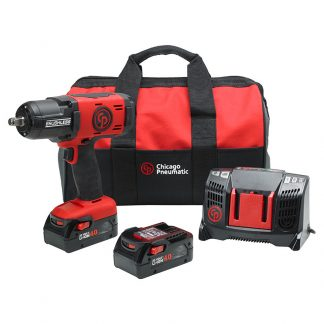 "CP8849 Chicago Pneumatic 1/2"" Cordless Impact Wrench 4.0Ah Kit"