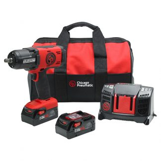 "CP8849 Chicago Pneumatic 1/2"" Cordless Impact Wrench 6aH Kit"