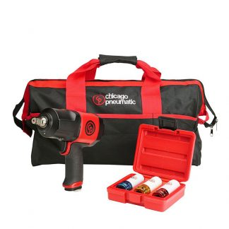 "Chicago Pneumatic CP7748 1/2"" Impact Wrench and Socket Kit"