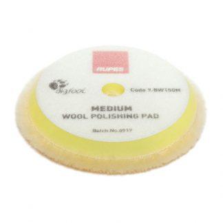 9.BW150M Rupes Medium Wool Polishing Pad