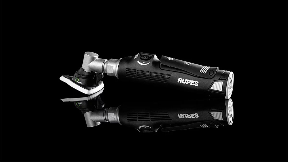 RUPES iBrid Nano Sander with Q-Mag Technology