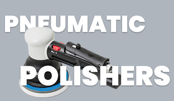 RUPES Pneumatic Air Polishers