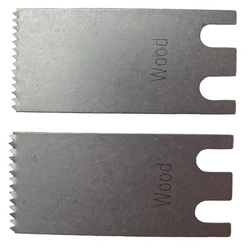 63502131010 Fein MultiMaster 20mm M-Cut Saw Blade Pack Of 2