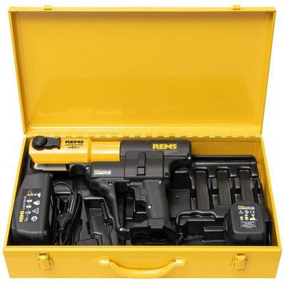 REMS Akku-Press ACC Radial Press Jointing Tool Basic Pack