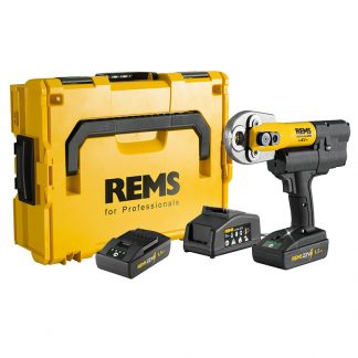 REMS Mini Press ACC 22v Radial Press Jointing Tool Basic Pack