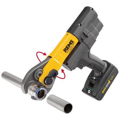 REMS Mini Press ACC 22v Radial Press Jointing Tool