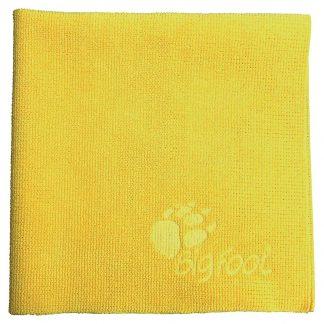 9.BF9060 RUPES Yellow Microfibre Cloth