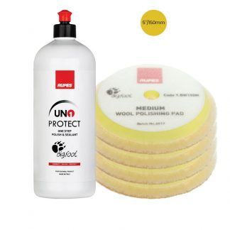 RUPES Uno Protect 150mm Bundle